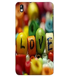 HTC DESIRE 816 LOVE Back Cover by PRINTSWAG