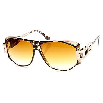 Amazon.com: Candy Coated NYC Fashion Gazelle Aviator Sunglasses