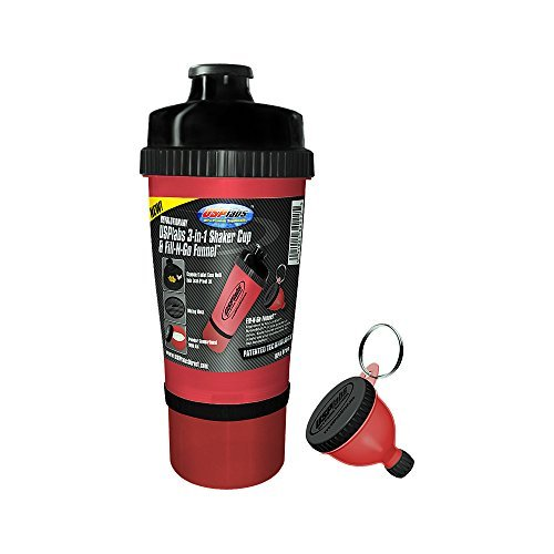 USP Labs - 3 in 1 Shaker Cup with Funnel