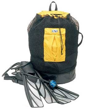 Stahlsac Bonaire Mesh Gear Backpack- Snorkeling or Dive Bag