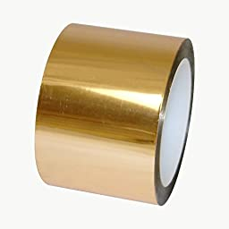 JVCC MPF-01 Metalized Polyester Film Tape: 3 in. x 72 yds. (Gold)