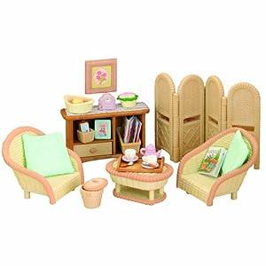 Sylvanian Families Conservatory Living Room Set