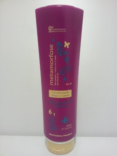 Metamorfose Apple & Cinnamon Salt-Free Straightening Conditioner by Metamorfose