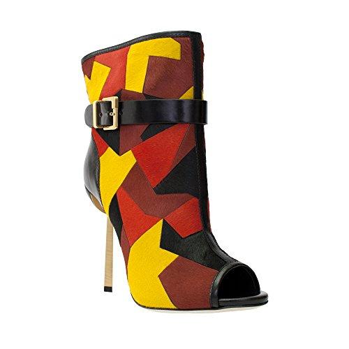 sergio-rossi-multi-colored-pony-leather-open-toe-short-boot-size-38-8