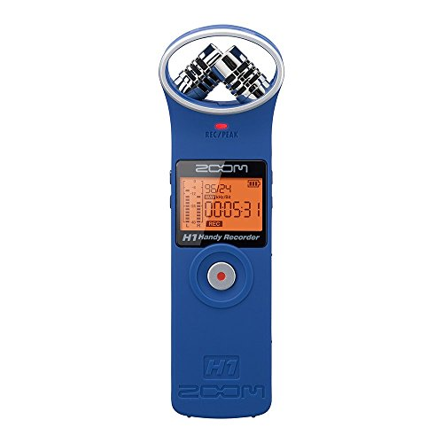 ZOOM ズーム リニアPCM/ICハンディレコーダー マットブルー H1/LU