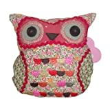 Owl fabric door stop - Ditsy
