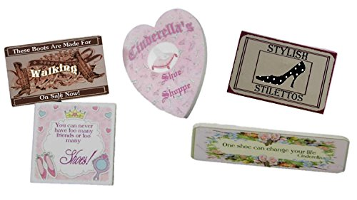 "Cinderella's Shoe Shoppe Signs - for The Queen's Treasures Interchangeable 18"" Doll Shoppe Furniture - 1"
