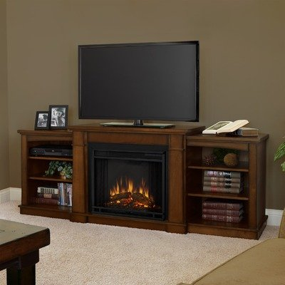 Hawthorne Electric Fireplace in Burnished Oak image B009L8NI8S.jpg