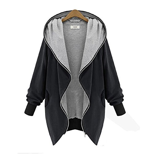 xuanou-womens-hooded-zipper-cardigan-big-collar-jacket-coat-windbreaker-xxxx-large-black