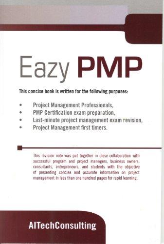 Eazy Pmp - PMP Exam Prep Book