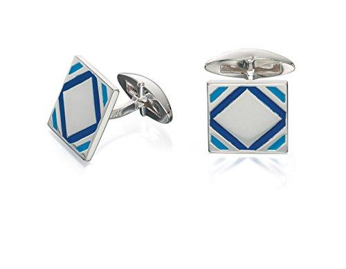 Fred-Bennett-Blue-Epoxy-Square-Cufflinks