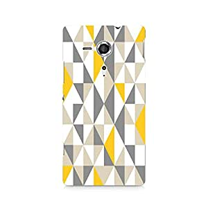 Mobicture Pattern Premium Designer Mobile Back Case Cover For Sony Xperia SP M35H