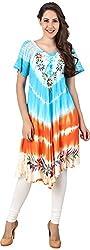 Stylishbae Women's A-Line Dress (Multicolor)