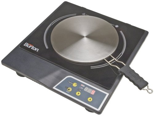 Max Burton 6015 Portable Induction Cooktop Stove and Interface Disk Combination Set  ->  Induction Combo Set includes an Induction Cooktop