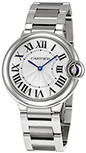 Cartier Midsize W69011Z4 Ballon Bleu Stainless Steel Watch
