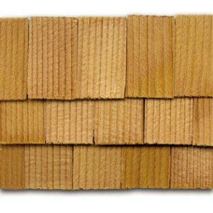 Dollhouse Cedar Rectangle Shingles 300 Pack - 1