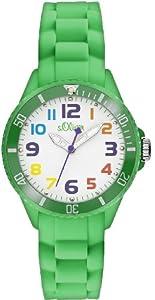 s.Oliver Unisex-Armbanduhr Analog Quarz Silikon SO-2432-PQ