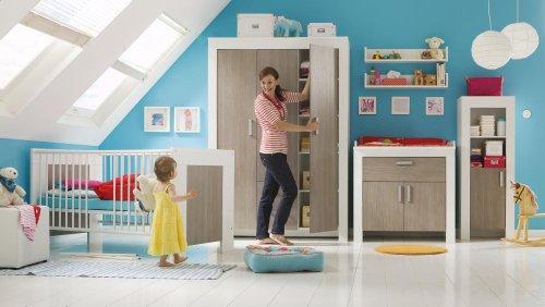 janne 6tlg babyzimmer wickelkommode babybett. Black Bedroom Furniture Sets. Home Design Ideas