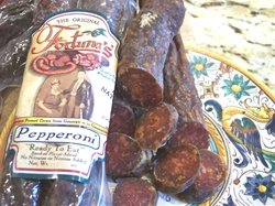 All Natural, Nitrate Free Dry Cured Pepperoni: 9oz. Pkg (2 Sticks Per Package) by Fortuna