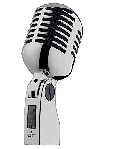 SOUNDSATION ICON 50's microfono vintage classico switch ON/OFF per canto voce
