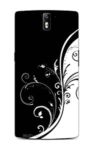MiiCreations 3D Printed Back Cover for One Plus One,Pattern