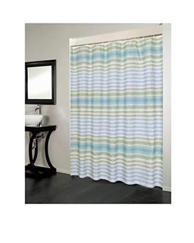 Beatrice Home Fashions Florida Shower Curtain, Multi