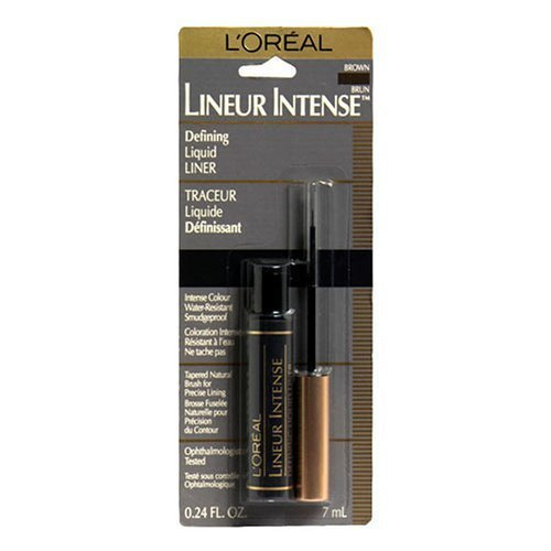 L'Oreal Paris Lineur Intense Brush Tip Liquid Eyeliner, Brow