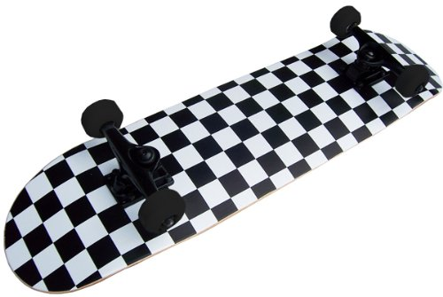 For Sale! PRO Skateboard Complete Pre-Built CHECKER PATTERN 7.75