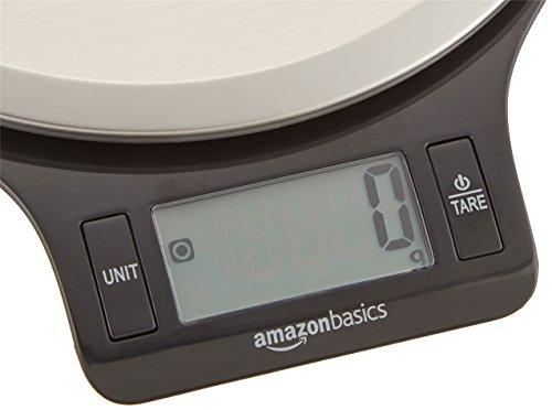 AmazonBasics Balance de cuisine numérique à écran LCD