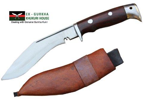 """Genuine Gurkha Hand Forged Kukri - 5"""" Blade American Eagle Khukuri - Handmade By Ex Gurkha Khukuri House In Nepal"""