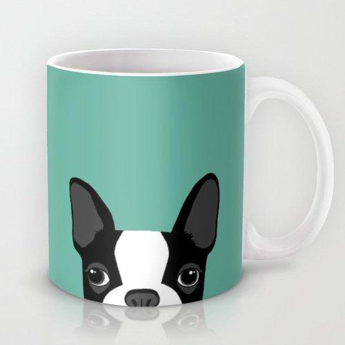 POPEVEN猫 グリーンマグカップ ユニークなデザイン、可愛くて落ち着いたマグカップ。おしゃれ モダン オリジナル