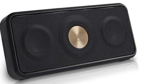 TDK Haut Parleur Stéréo Sans Fil d'Extérieur Résistant à l'eau NFC Bluetooth  - Noir