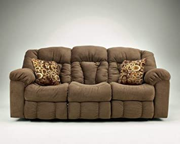 Macie Reclining Sofa Brown
