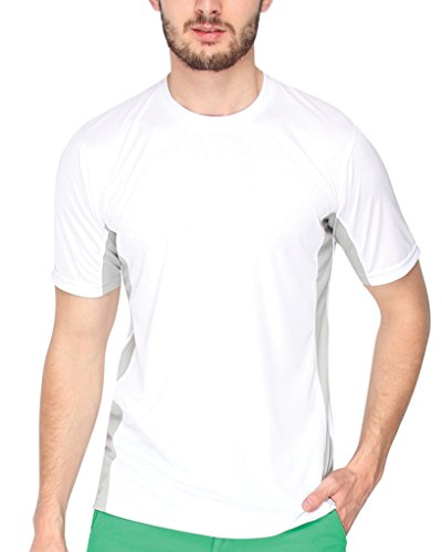 Campus-Sutra-White-Dry-Fit-Half-Sleeve-Tshirt