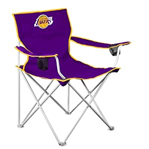 NBA Los Angeles Lakers Deluxe Folding Chair by Logo Chair Inc.