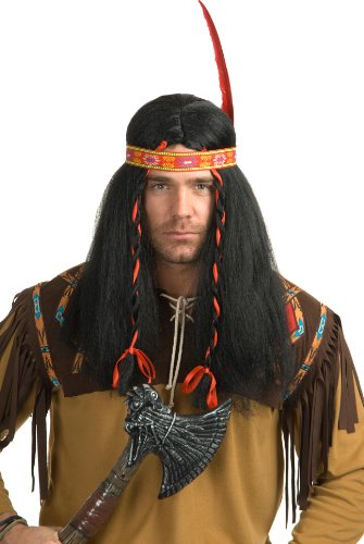 Charades Costumes - Running Bull Adult Wig