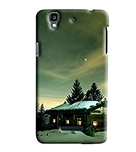 Clarks Snow Weather Hard Plastic Printed Back Cover/Case For Micromax Yu Yureka