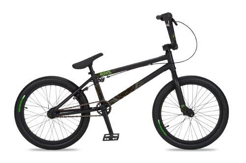 Dk Kvant Bmx Bike With Black Rims Black, 20-Inch)