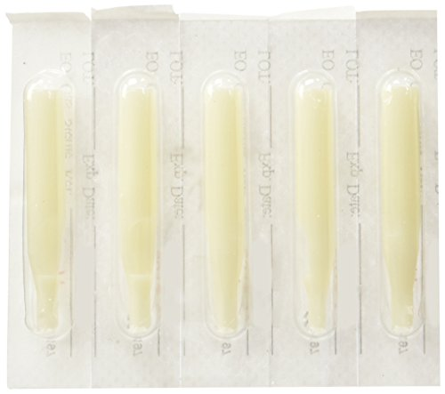 Tattoo Supply 100 Plastic Disposable Tips (Nozzles) Round/flat (Tattoo Supplies Tips compare prices)