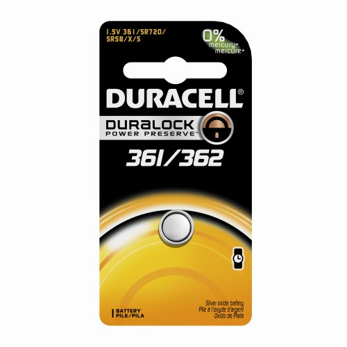 DURACELL D361 362B Watch Calculator BatteryB00006JPH4 : image
