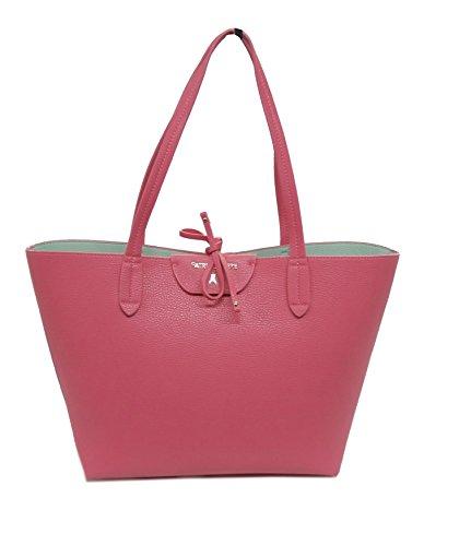 Patrizia Pepe borsa shopping 2V5452AV63 fuxia/celeste reversibile
