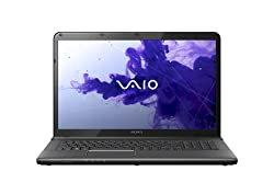 Sony 17-inch Vaio E-Series Laptop - Black (Intel Core i7 3.2GHz, 1TB HDD, 8GB RAM, Windows 8)
