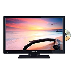 Finlux 22 inch TV/DVD Combi with built-in multi-region DVD player (22FCE274B-NC)