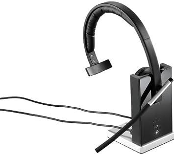 logitech h820e casque sans sans fil noir import allemagne informatique z130. Black Bedroom Furniture Sets. Home Design Ideas