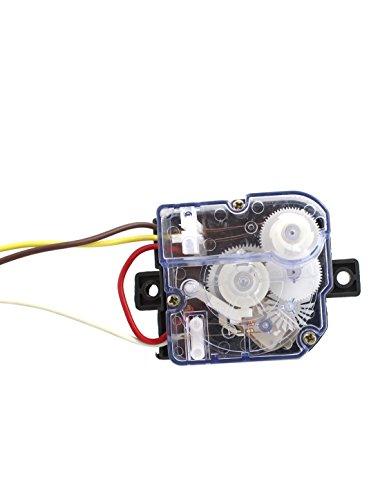 [해외]Uxcell DXT15 AC 250V의 3A 기계 세탁기 타이머, 맑고 푸른 세탁기 3 전선/Uxcell DXT15 AC 250V 3A 3 Wires Washing Machine Washer Timer, Clear B