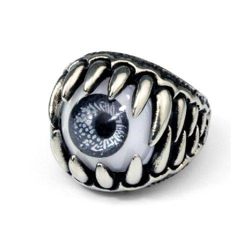 Men'S Ring Finger Ring Eye Titanium Personality Trendsetter Accessories