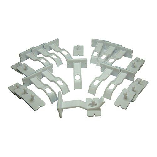 Dreambaby Adhesive Double Locks, 12-Count - 1