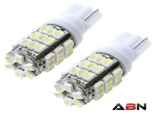 Abn 2 Pc 42-Smd T10 12V Led Replacement Light Bulbs T15 921 912 906 Extra Bright White