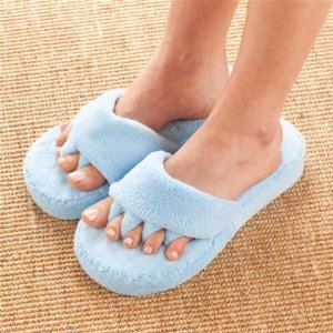 Cheap COMFY TOES SLIPPERS LADIES (JB5577. BLUE – S/M)