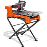 "Husqvarna 966610701 10"" TS 60 Wet Tile Saw, Includes Stand and Blade"